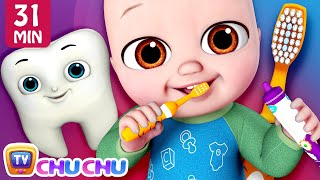 No No Brush My Teeth Song + More ChuChu TV Baby Nursery Rhymes & Kids Songs