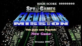 Spy Games Elevator Mission Wii Gameplay