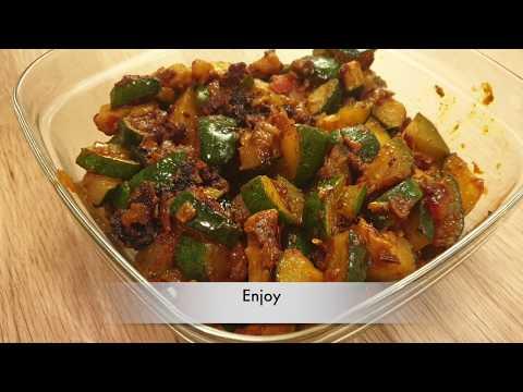 Stir fry Zucchini | Zucchini ki asaan sabzi | Courgette | Vegan | Keto