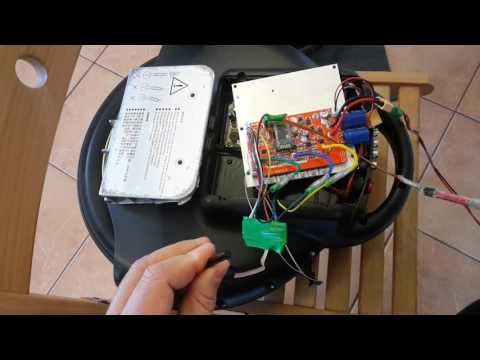 Open source firmware electric unicycle motor2 max speed 23km/h