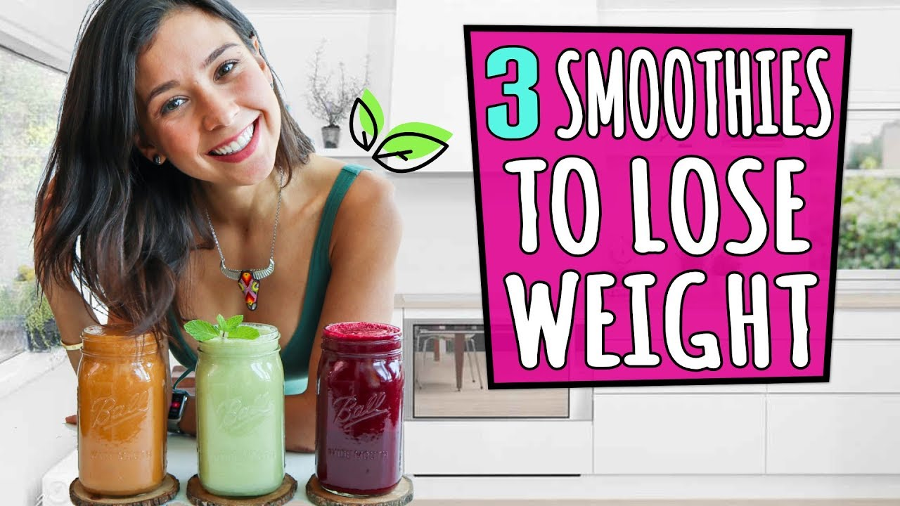Three Weight-Loss Smoothies - Rawvana