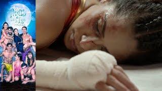 Juana Bárbara cae en el ring | Hijas de la Luna - Televisa