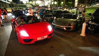 Supercars in Monaco 2017 - VOL. 26 (Zonda F, Huayra Pearl, ONE:1, 918 Spyder, LaFerrari, 2x Veyron)
