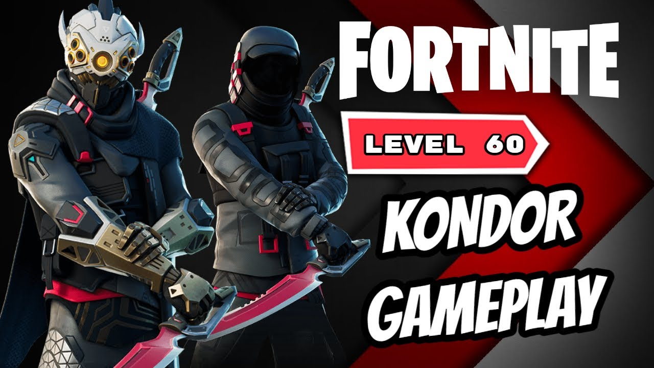 Kondor Skin Gameplay In Fortnite Youtube Luckily the wait was not long; kondor skin gameplay in fortnite