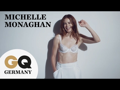 HollywoodTraumfrau Michelle Monaghan in sexy Dessous I GQ Fotoshooting I