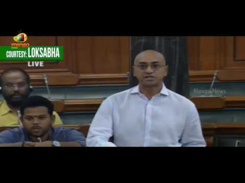 Jayadev Galla Demands Central University & Tribal University For AP | Prakash Javadekar | Lok Sabha