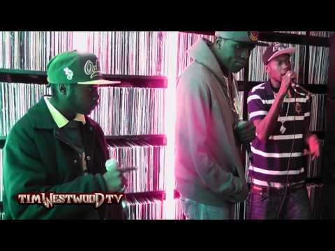 Joe Black, Squeeks & Young Kaz freestyle pt1 - Westwood Crib Sessions
