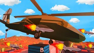 THE ARMY HELICOPTER KANN MISSILES SCHIEßEN!! (Roblox Jailbreak)
