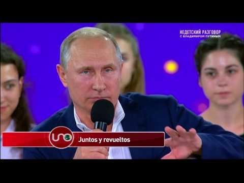 Putin sale en defensa de Nicolás Maduro y le pide a Trump no desestabilizar a Venezuela