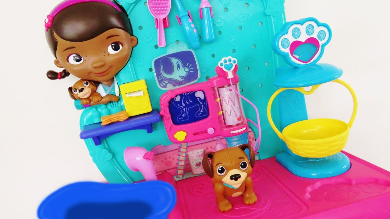 Doc Mcstuffins Toy Checkup Center Pet Vet Doctor Playset
