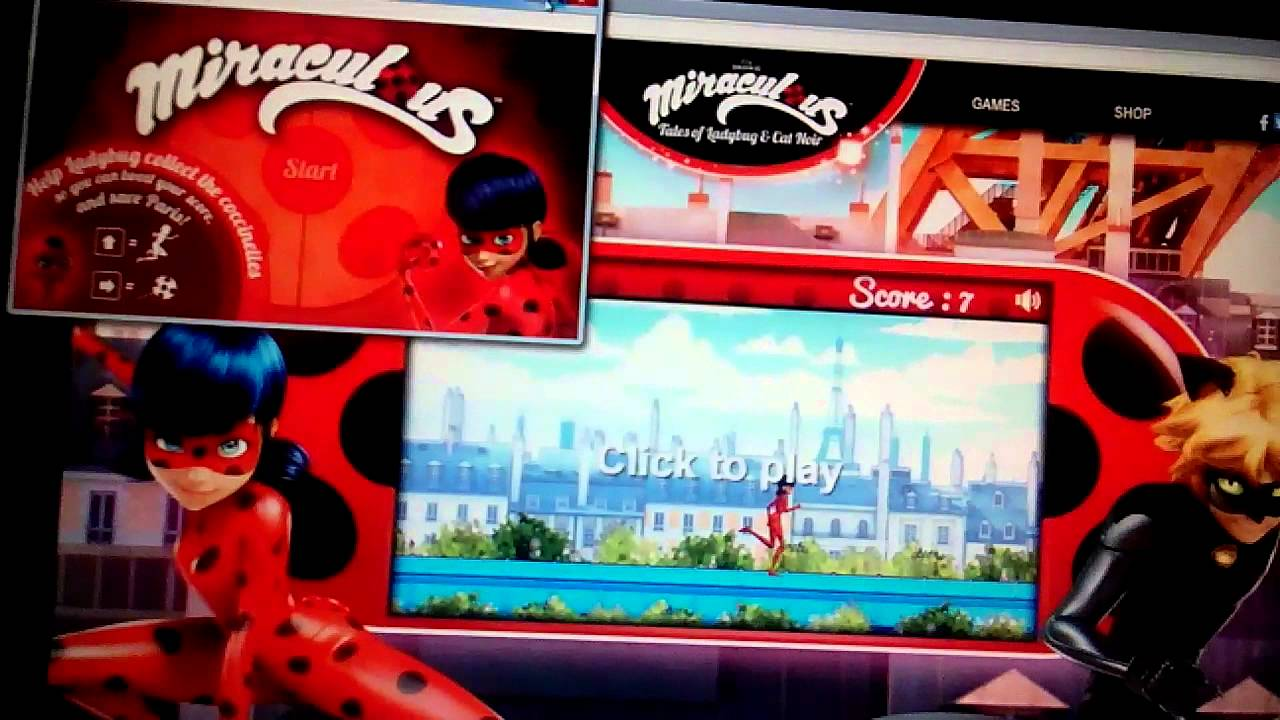 Miraculous Ladybug And Cat Noir Games Online