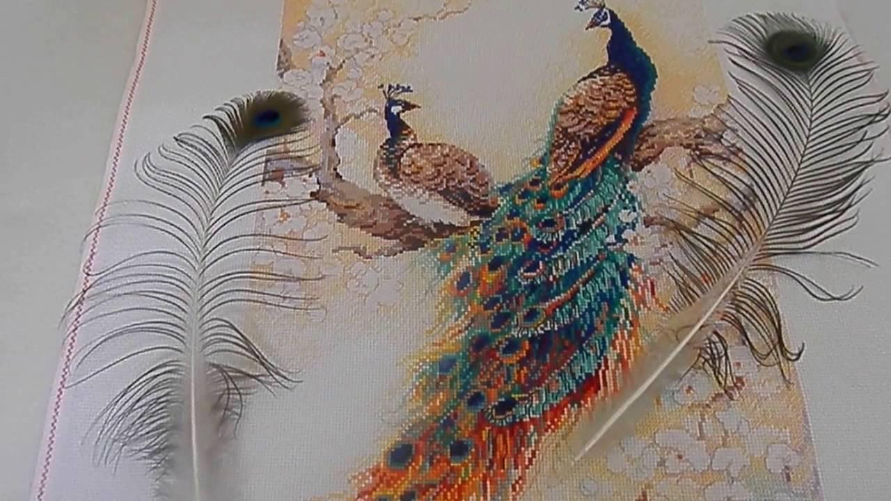 Риолис вышивка персидский сад
