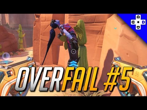 Overwatch Fails - Embarrassing Deaths! Funny Overwatch Deaths