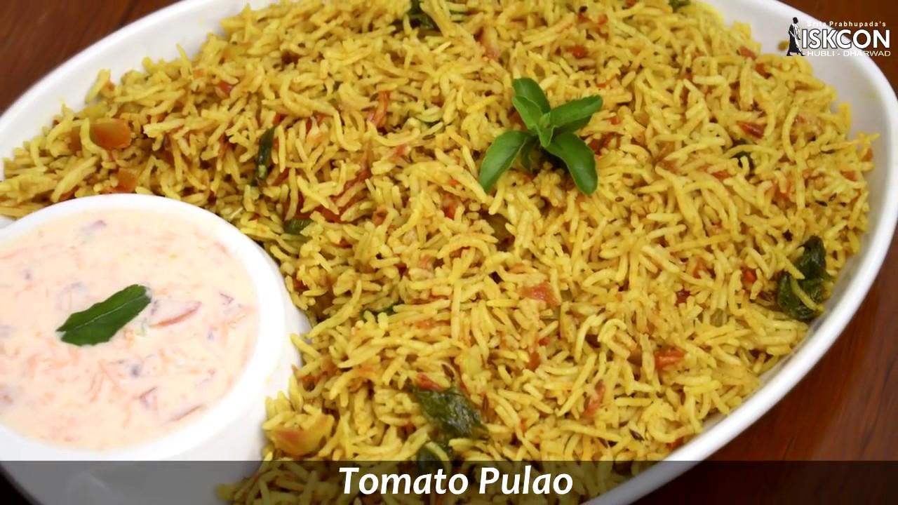Tomato pulao l sattvic recipes youtube tomato pulao l sattvic recipes forumfinder Choice Image