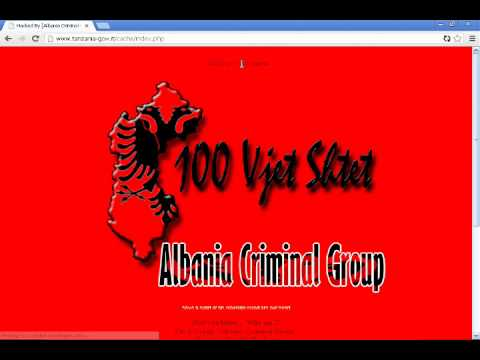 http://www.tanzania-gov.it Got hacked by ACG [Albania Criminal Group]