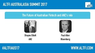 the future of australian fintech and anz s role shayne elliott anz paul allen bloomberg