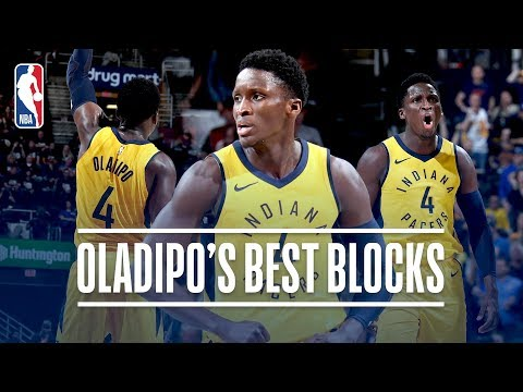 Victor Oladipo's Best Blocks with the Indiana Pacers!