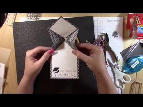 Cricut Folding Hat Graduation Card Youtube
