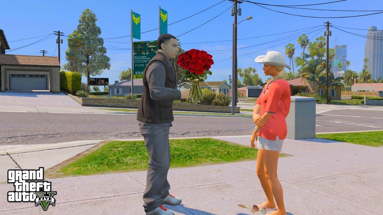 KEGAMINGTV GTA 5 REAL LIFE MOD#20 FIRST DATE WITH LIZA