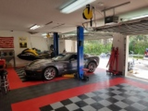 RaceDeck Garage Flooring Review YouTube - How much does racedeck garage floor cost