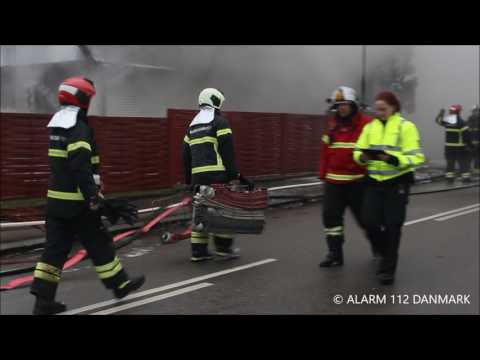 19022017 Voldsom brand  - ene død i brand, Herlev