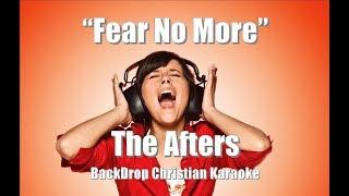 "The Afters ""Fear No More"" BackDrop Christian Karaoke"
