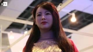 """La """"diosa"""" Jia Jia, el primer robot interactivo de China"""