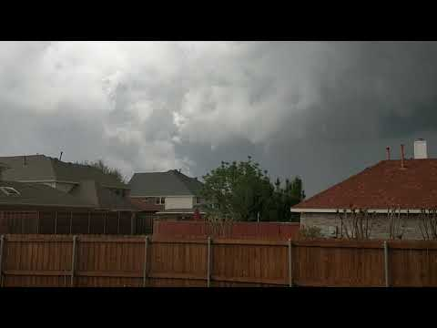 Tornado warning - Plano, TX
