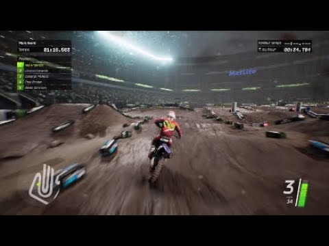 Monster Energy Supercross Videogame PS4 Pro: Test Video Review Gameplay FR (N-Gamz)