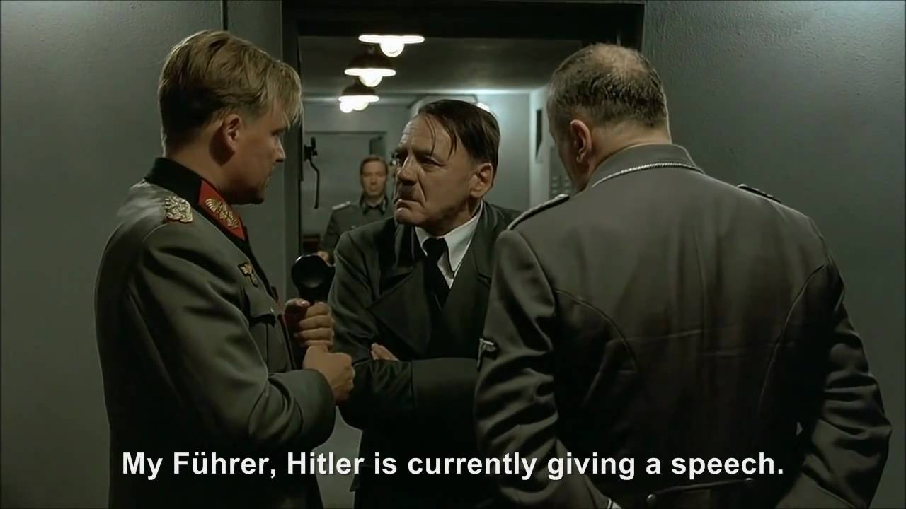 Hitler phones Family Guy Hitler