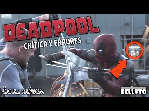Errores de películas Deadpool Crítica y Review WTF PQC