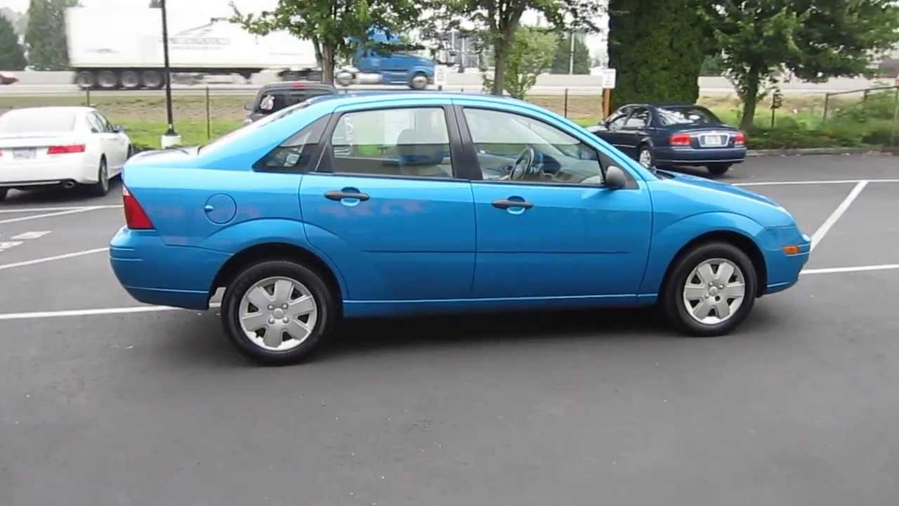 2007 ford focus aqua blue metallic stock 731103 youtube. Black Bedroom Furniture Sets. Home Design Ideas