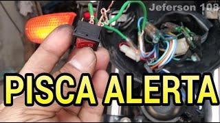Como instalar um pisca alerta em qualquer moto-Jeferson 108 thumbnail
