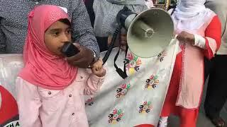 Kashmir Children Rights|| Rumaisa Ansary Speech in NYC