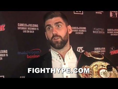 ROCKY FIELDING REACTS TO CANELOS $365 MILLION DAZN DEAL; IS HE CONCERNED A FIX MAY BE IN?