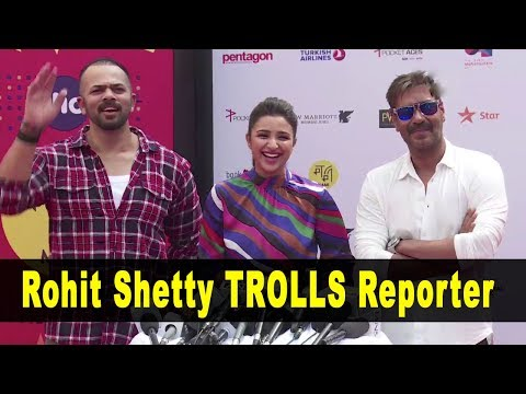 Rohit Shetty Trolls A Media Repoter At Jio Mami Film Festival 2017
