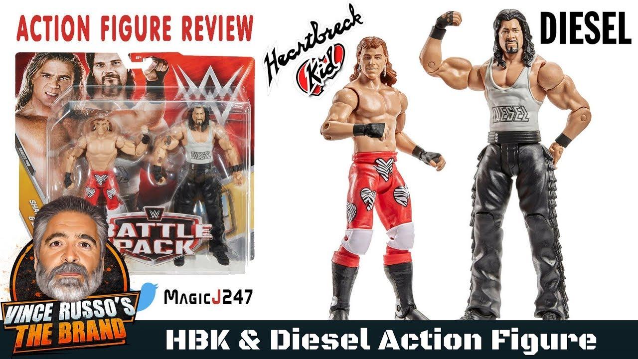 WWE Mattel Wrestling Figure Elite Series 44B Shawn Michaels