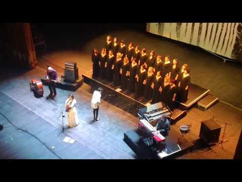 Katie Melua - Nine Million Bicycles ft. Gori Women's Choir. Live at Tbilisi State Opera