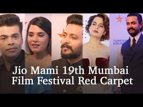 Jio MAMI 19th Mumbai Film Festival Red Carpet | Opening Ceremony | Liberty Cinema