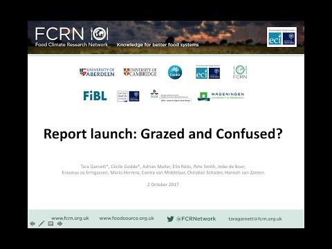 (2/2) Grazed and Confused? Launch webinar: Q&A with panel of authors