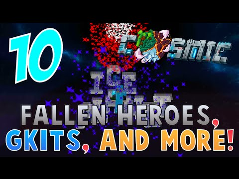 """""""FALLEN HEROES, GKITS, AND MORE!!"""" - CosmicPVP Ice Planet Factions (Season 3 EP 10)"""