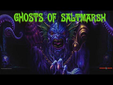 Ghosts of Saltmarsh. Episode 1!  Ahoy Saltmarsh! (Dungeons and Dragons Gameplay)