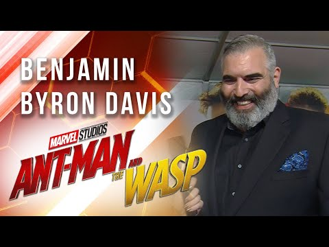 Benjamin Byron Davis at Marvel Studios' Ant-Man and The Wasp Premiere