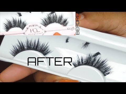 Beauty Hack| How to Clean & Reuse False Lashes