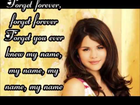 Rule The World/Forget Forever - Selena Gomez Lyrics