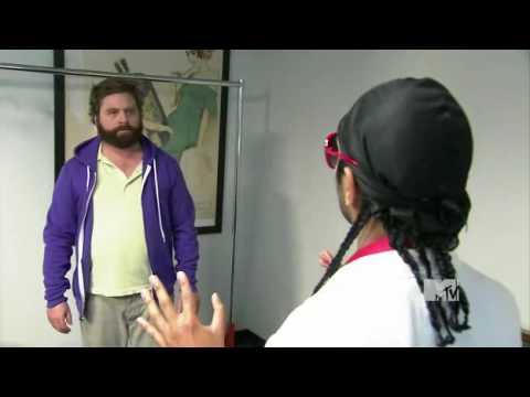 Aziz Ansari Teaches Zach Galifianakis About Swag