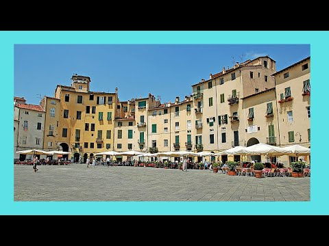 The historic and beautiful town of Lucca, Italy