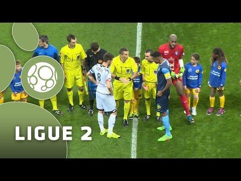 Havre AC - FC Sochaux-Montbéliard (2-1)  - Résumé - (HAC - FCSM) / 2015-16