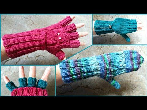 Fingerlinge,  Armstulpen,  Marktfrauen-Handschuhe