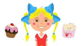 Развивающие мультики - Песенка для детей про еду и разные продукты - БЯКА(Новая песенка для малышей про продукты